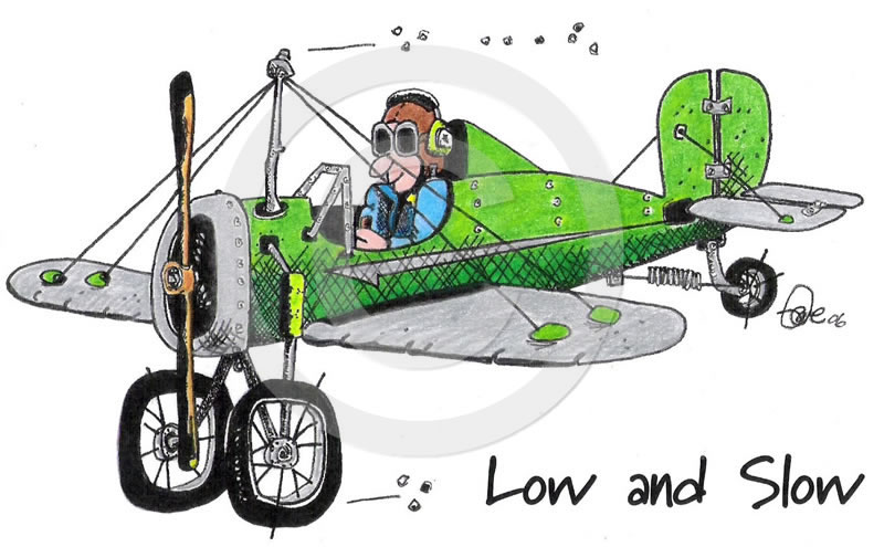 Tailwheels Art Low and Slow